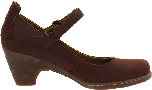 El Naturalista Womens N860 Mary Jane Pump Chocolate