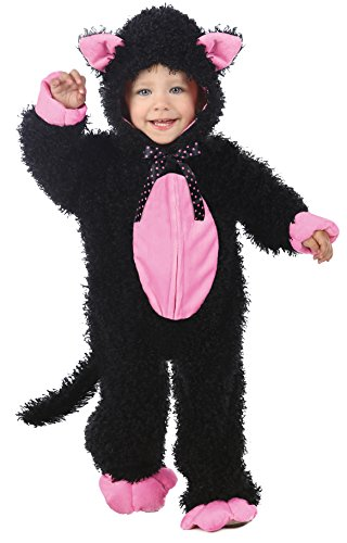 Costume Halloween Soft Kitty (Princess Paradise Baby's Black and Pink Kitty Deluxe, As Shown,)