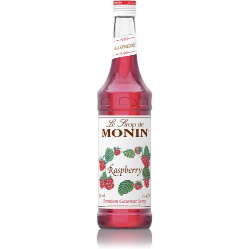 Monin Raspberry Syrup (1 Single 750 ml bottle)