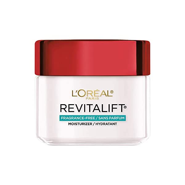 L'Oreal Paris Skincare Revitalift Anti-Aging Face and Neck Moisturizer Fragrance and Paraben Free with Pro-Retinol and…