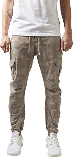 Hombre Mehrfarbig Jogging Para Camo Cargo sand 867 Classics Pants Urban Pantalones Bw0Hw