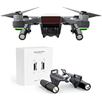 gouduoduo2018 Spark Headlamp LED lights Kit for DJI Spark Drone Accessries (Battery Not Include)