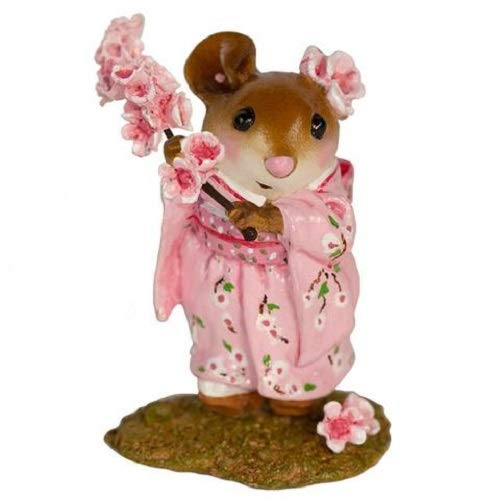 Wee Forest Folk M-459a Cherry Blossom Girl (New 2019)