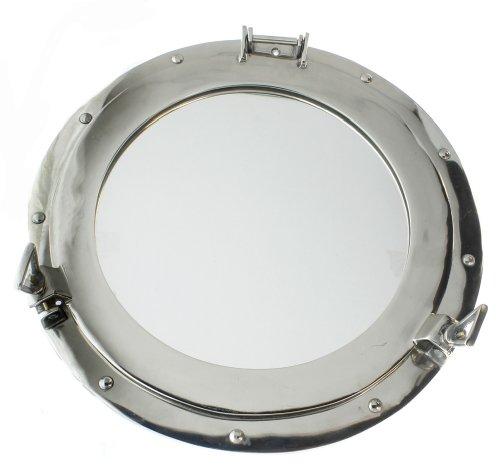 Porthole Door (Iotc Porthole Clear, Aluminum Chrome 17