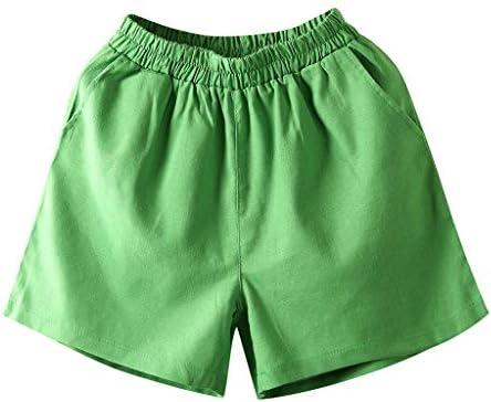 Shorts for TeensOn  UOKNICE Beachwear Women Summer High Waist Loose Casual Cotton Linen Pockets Shorts Pants / Shorts for TeensOn  UOKNICE Beachwear Women Summer High Waist Loose Casual Cotton Linen Pockets Shorts Pants