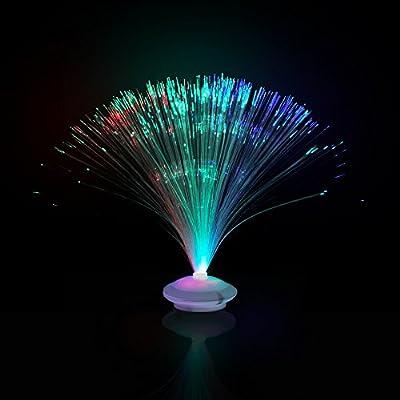 """LED Fiber Optic Centerpiece - 12"""""""