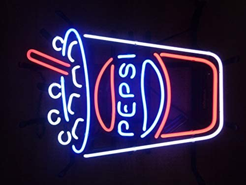 ins for Bedroom ZHAOYANG NEON FACTORY h Pizza Handcrafted Glass Tube neon Sign 17 w insx13