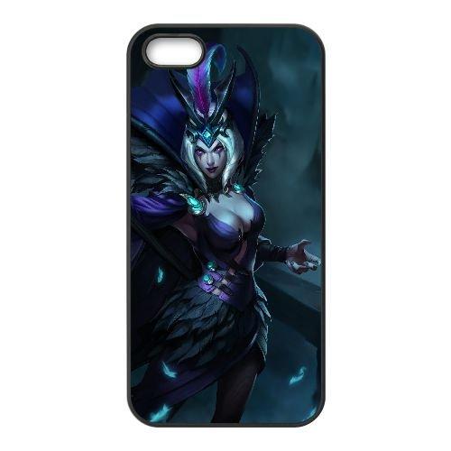 C5Z11 League of Legends X4W4XW coque iPhone 5 5s cellulaire cas de téléphone couvercle coque noire WU4ZFR8RV