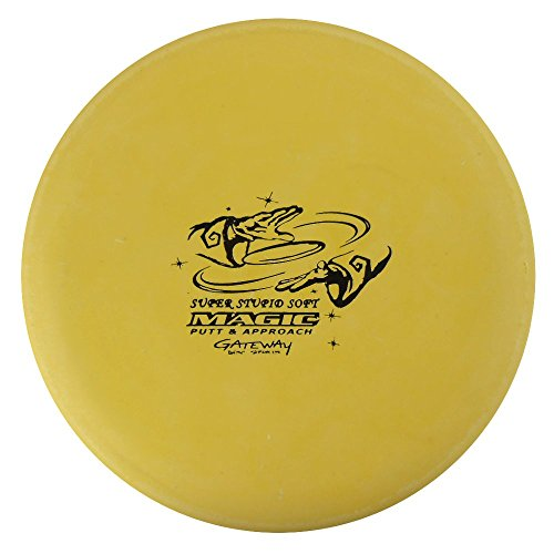 Gateway Disc Sports Sure Grip S Super Stupid Soft Magic Putter Golf Disc [Colors may vary] - 170-172g (Magic Putter)