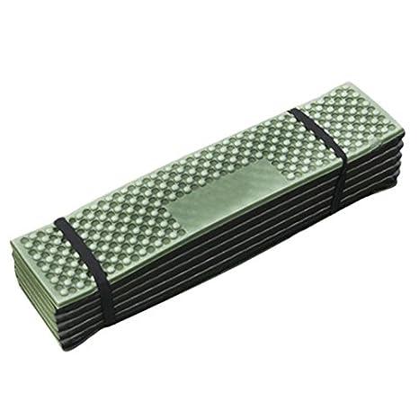 Luckycyc Foam Camping Mat Portable Waterproof Dampproof Mattress Folding Tent Sleeping Pad