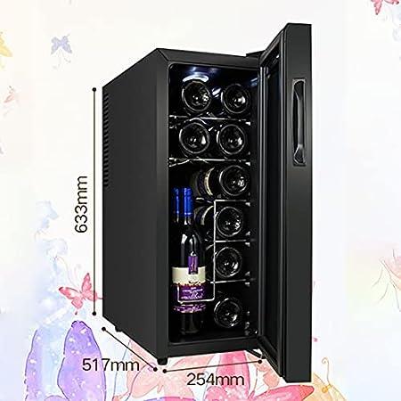 Hmvlw Vinoteca refrigerada Inicio Cocina Restaurante Refrigerado Vino refrigerador electrónico Temperatura Constante de vino Coolador de vino Refrigerador de vino Temperatura constante Frigorífico ref
