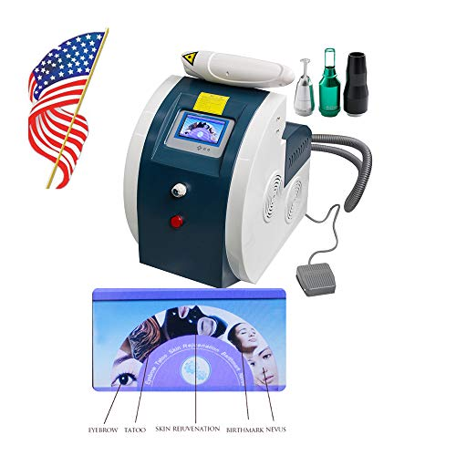 Denshine Tattoo Eyebrow Pigment Removal Machine Beauty Machine Eye Lip Pigment Freckle Old Aged Marks Remover Device - US Shipping, 3-6D Delivery