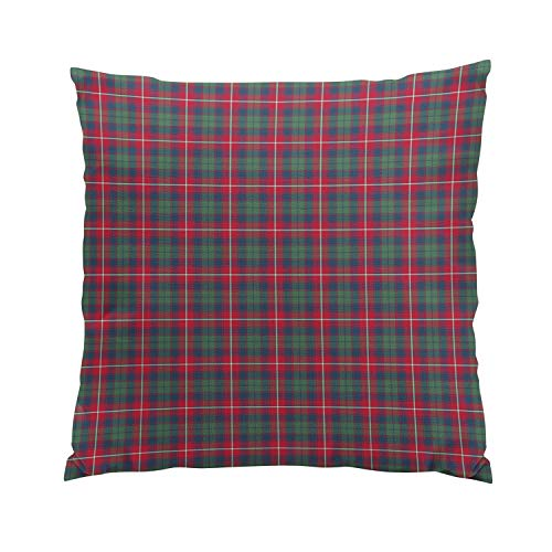 - Skully Modern European Square Robertson Clan Tartan Hidden Zipper Home Sofa Decorative Throw Pillow Cover Cushion Case 26x26 inch Two Sides Design Printed Pillowcase
