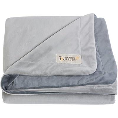 [100% PURE CRYSTAL VELVET] Super Deluxe Pet Bed Blanket Size M Dog Cat Throw