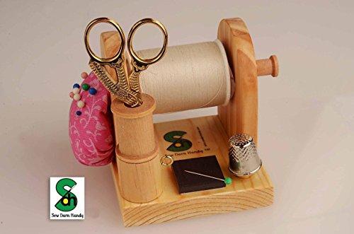 Sew Darn Handy Original Thread Caddy, Sewing Caddy, Quilt Caddy, Sewing Kit, Sewing Organizer, Needle and Thread Holder, Gift for Sewing Club Members from Sew Darn Handy