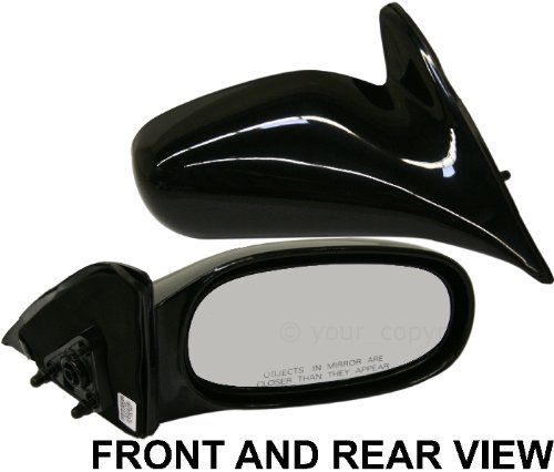 (COROLLA 98-02 SIDE MIRROR RIGHT PASSENGER, Manual)