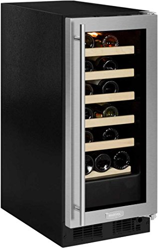 Marvel ML15WSG0RS 15 Inch Built-In Wine Cooler in Stainless Steel