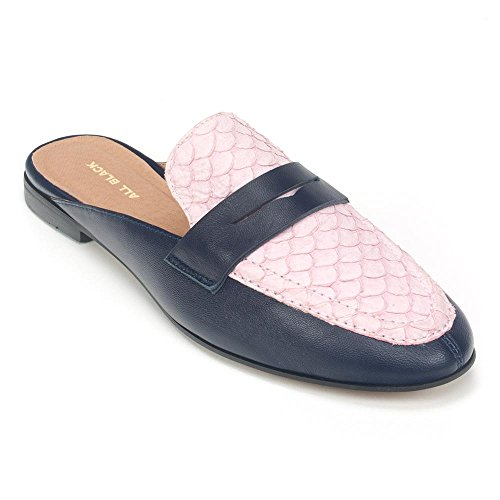 ALL BLACK Pennyfish Slide Mule Pink