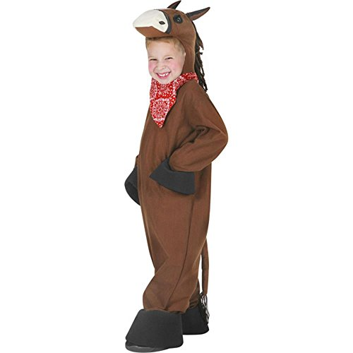 Kid's Brown Horse Halloween Costume (Small