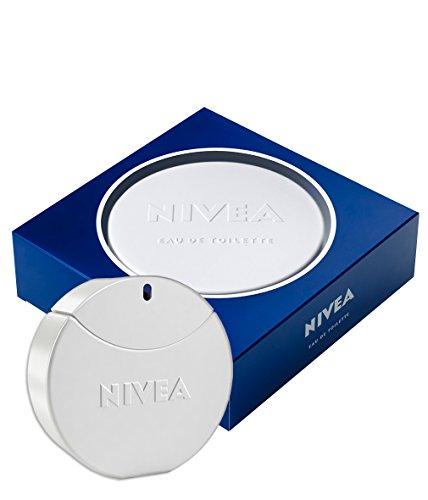NIVEA Creme Eau de Toilette, Pflege Duft in Parfum Flakon und NIVEA Dose, EdT für Damen, 1 x 30 ml