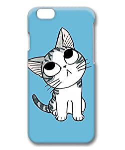 iCustomonline Cute Cartoon Kitten Protective 3D Hard Case for iPhone 6 Plus( 5.5 inch)