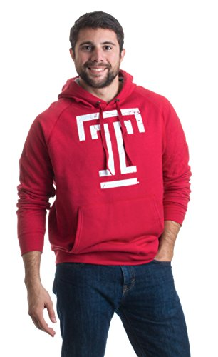 Temple University | Temple Owls Unisex Fleece Hooded Sweatshirt Hoody