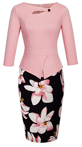 homeyee-womens-elegant-chic-bodycon-formal-dress-b288-m-a-light-pink