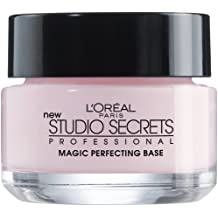 L'Oréal Paris Makeup Studio Secrets Professional Magic Perfecting Base, Face Primer, 0.5 fl. oz (Package May Vary)