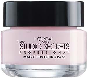 L'Oréal Paris Makeup Studio Secrets Professional Magic Perfecting Base, Face Primer, 0.5 fl. oz (Package May Vary)