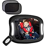 Amazon Com Safefit Day And Night Musical Mirror Black