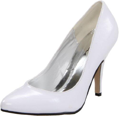 Pump 8400 Women's Ellie Patent Shoes blanco White qvxtO4a
