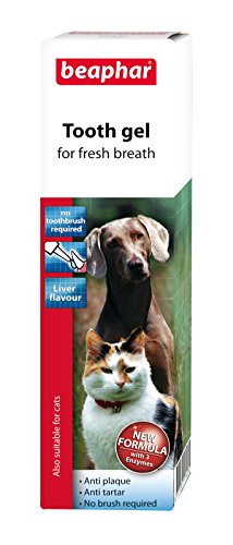 Beaphar Tooth Gel of Dogs & Cats, Liver Flavour Anti-Plaque