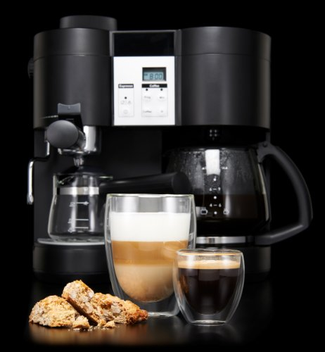KRUPS XP1600 Coffee Maker and Espresso Machine Combination ...