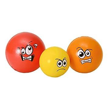 alltoshop Estrés niveles antiestrés pelotas en estrés - Juego de 3 ...