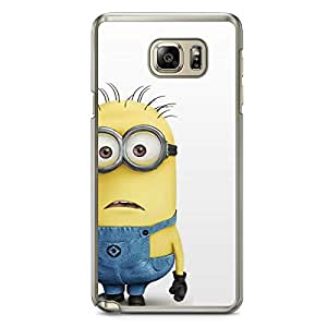 Minion Samsung Galaxy Note 5 Transparent Edge Case - E