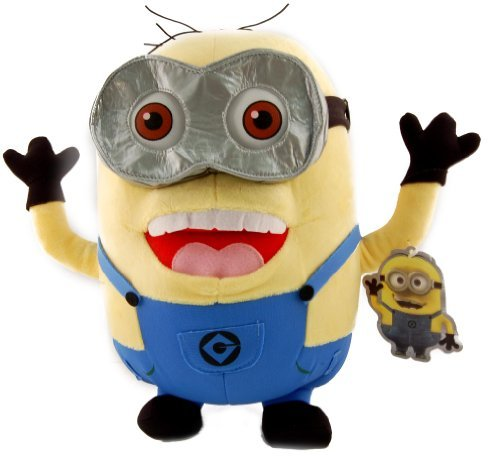 Two Eyed Minion (ToyFactory Despicable Me 2 One Eyed Minion Stewart 12