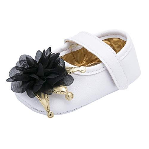 Toddler Baby Boys Girls Flower Crib Prewalker Soft Sole Antislip Shoes254