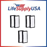 3 Packs of 2 HEPA Replacement Filters for Alen air TF30 for T100 and T300 Air Purifiers by LifeSupplyUSA