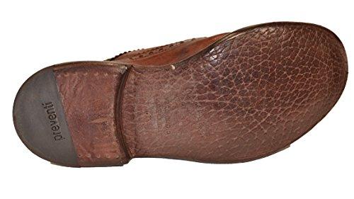 Herren Herren Schnürhalbschuhe Braun Schnürhalbschuhe Preventi dunkelbraun Preventi aF8xZ8