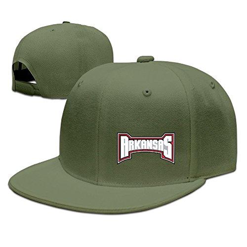 Arkansas Razorbacks Santa Hat (McBr University Of Arkansas UARK UA Razorbacks Outdoor Hip Hop Travelling Cotton Cap Hat Adjustable)