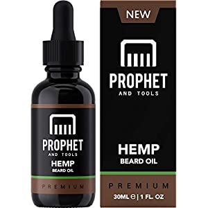 PREMIUM Hemp Beard Oil for Men [30ml] – Desi...