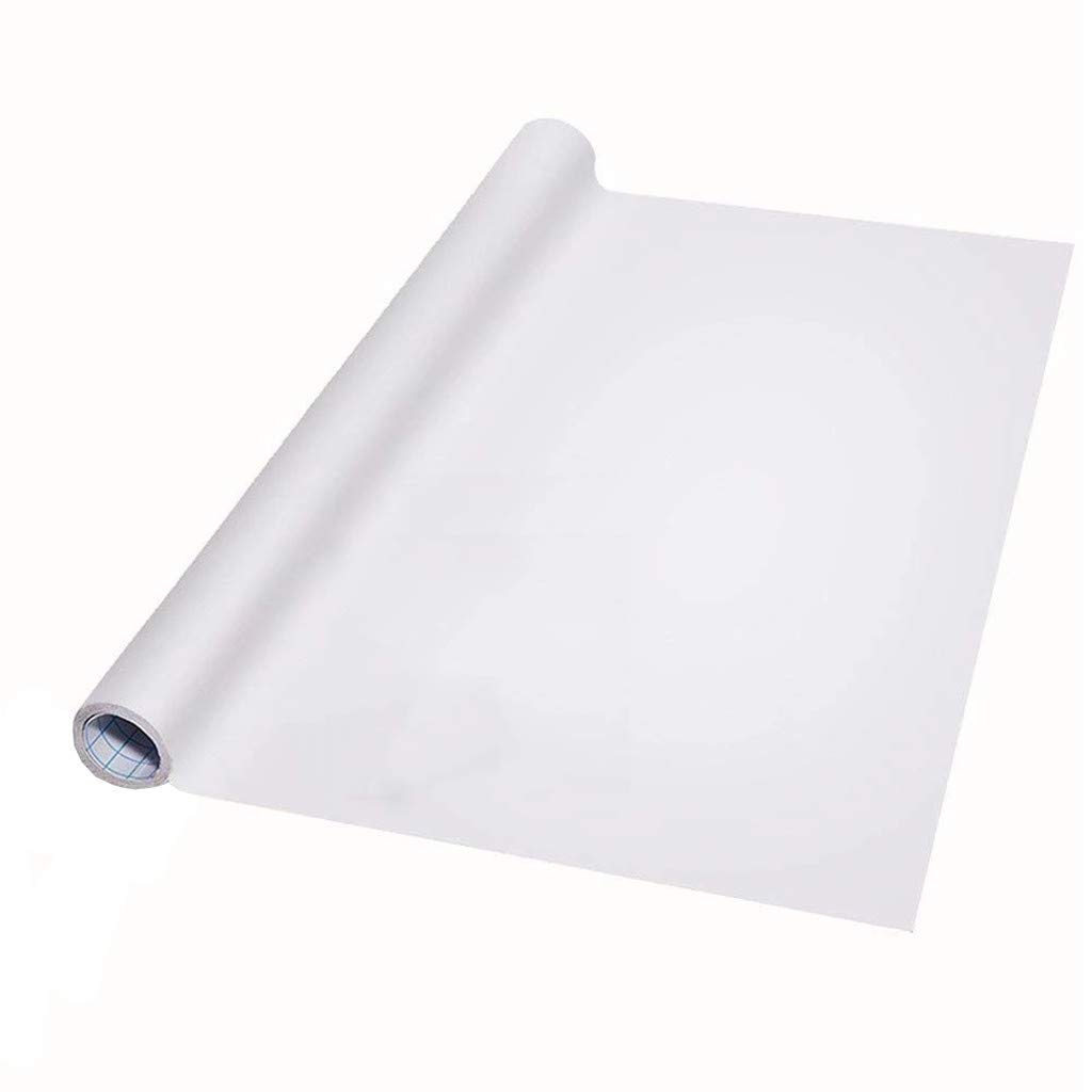 Reusable Roll Up Whiteboard Flexible Erasable Blank White Board to Do List Organizer Extra Large Magnetic Dry Erase Whiteboard Sheet for Fridge Wall 78x17 inch Great for Bulletin