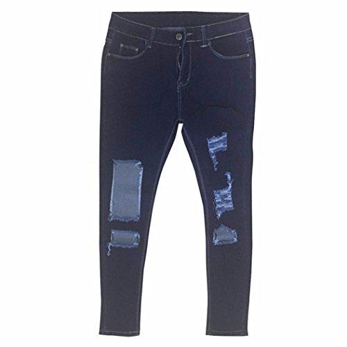Vaqueros Rotos Jeans Ropa Up Ocio EláSticos Estilo Rotos De Mujer Pantalones Skinny STRIR Pantalones Push Mujer CtFqc1R