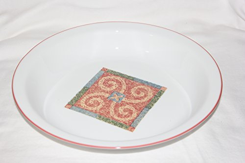 Corning Corelle Sand Art Glass Pie Plate, 9 inch