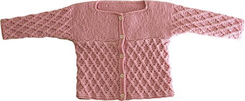 Knitting kit woolly baby jacket by Dee / Em / Sea