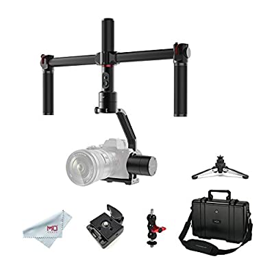 MOZA Air 3 Axis Handheld Gimbal Stabilizer with Dual Handle for DSLR Cameras, Max Payload of 5.5Lb, i.e. Canon EOS, Sony A7, Panasonic GH5