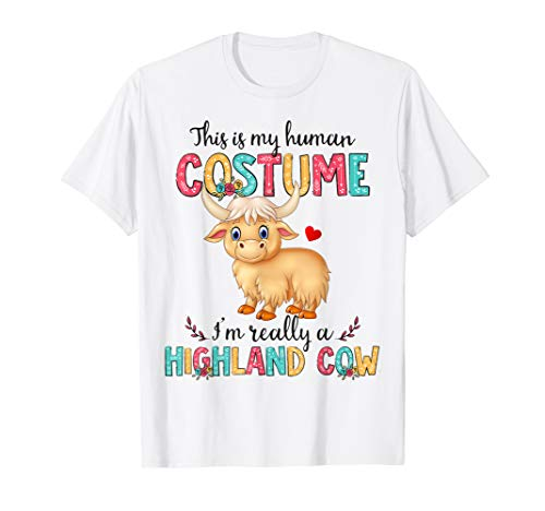 Highland Costumes - Halloween Human Costume Highland Cow Lover