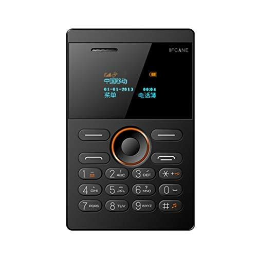 iFcane E1 Quad Band GSM Unlocked Mini Card Phone 1.0 inch Bluetooth 2.0 MP3 FM Alarm Clock Mini Students Cellphone ()