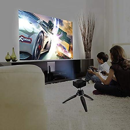 Qucking Light Proyector De Cine En El Hogar, Lightning To Hdmi Mini Proyector Portátil En Miniatura Proyector para Niños Home HD: Amazon.es: Hogar