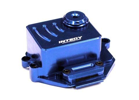 Integy RC Model Hop-ups T3431BLUE Alloy Receiver Box for 1/16 Traxxas E-Revo VXL,Slash VXL,Summit (Metal Body Receiver)